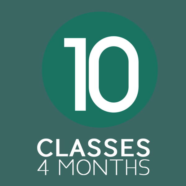10 Yoga Classes in Four Months