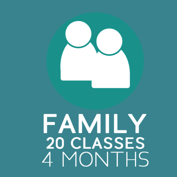 Family Yoga Pass – valid for 4 months